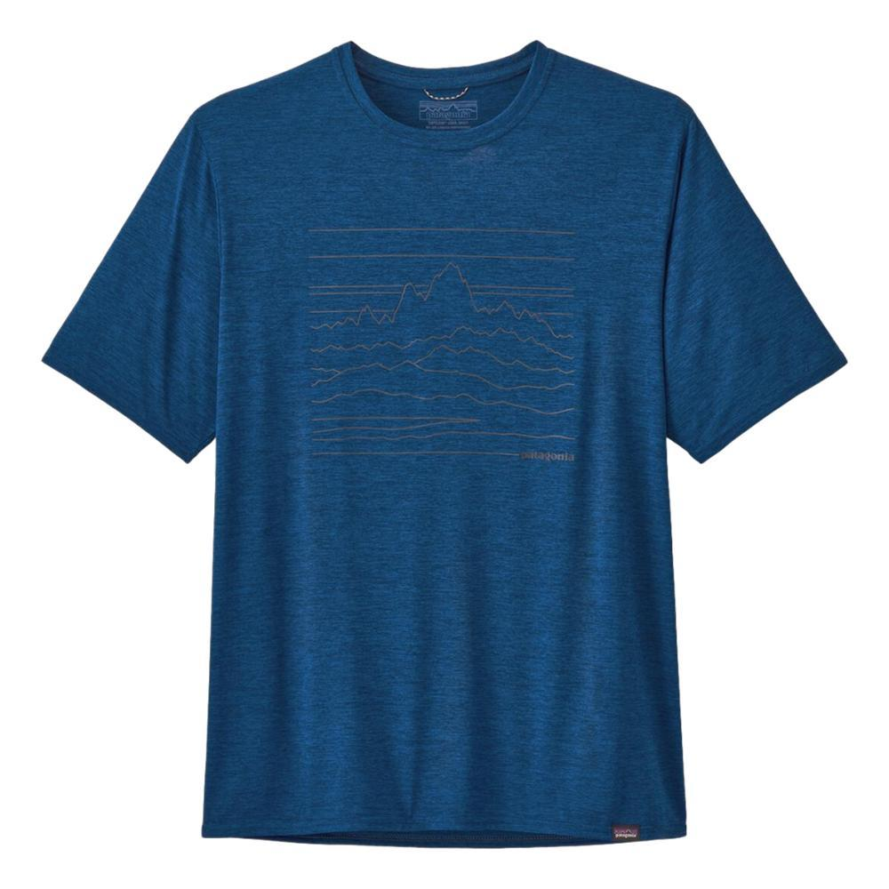 Patagonia Men's Capilene Cool Daily Graphic Shirt SUBLU_UESX