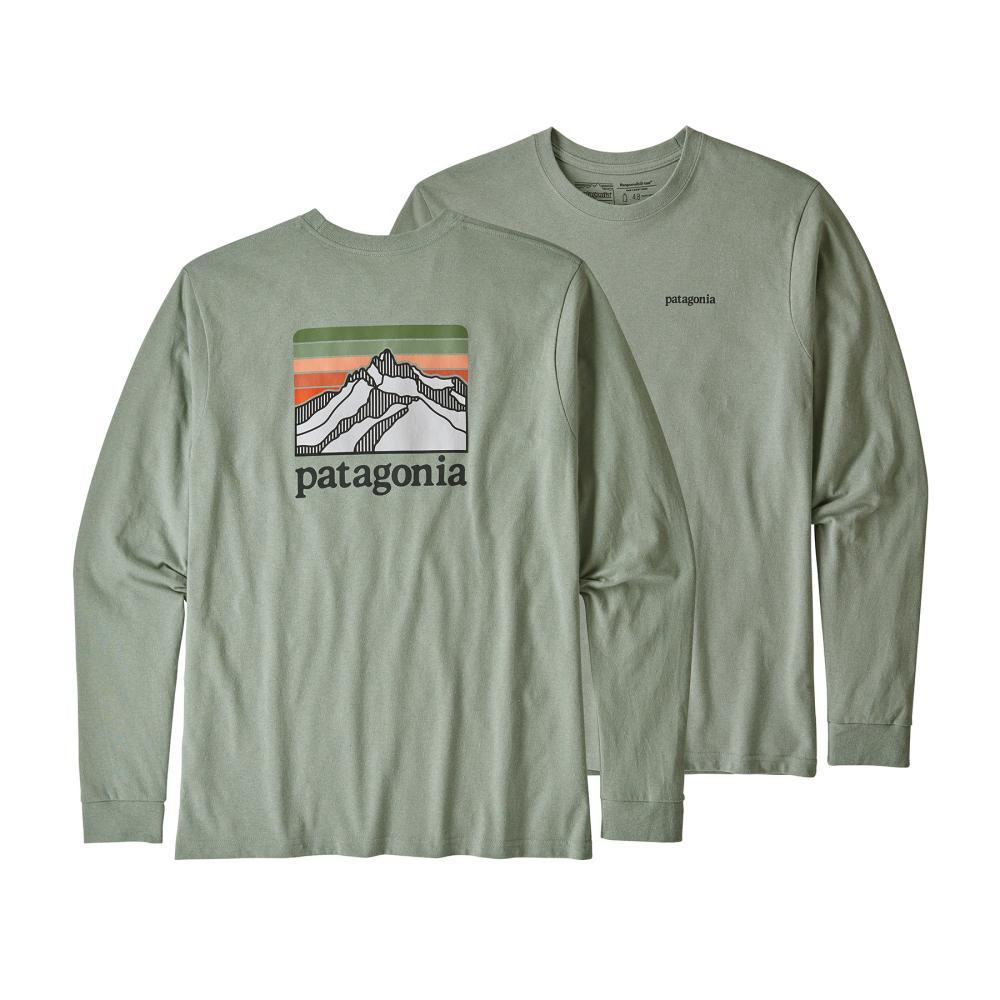 Patagonia Men's Long-Sleeved Line Logo Ridge Responsibili-Tee CELA