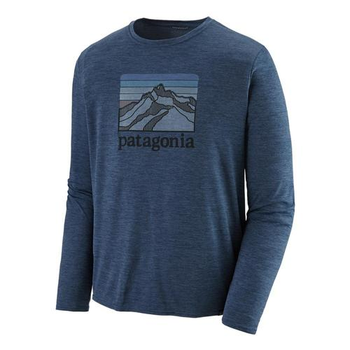 Patagonia Men's Long Sleeved Capilene Cool Daily Graphic Shirt Llsx