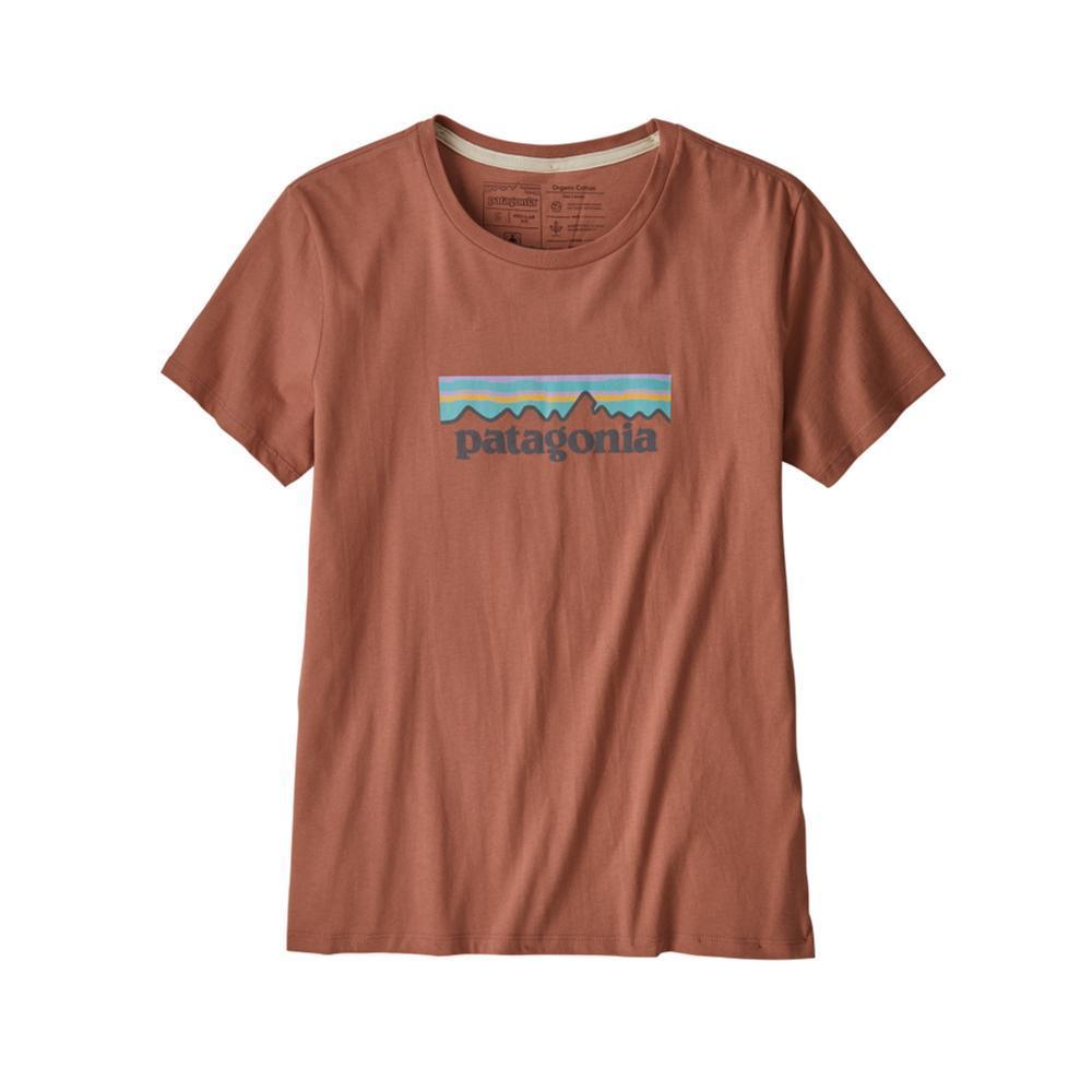 Patagonia Women's Pastel P-6 Logo Organic Crew T-Shirt CEP