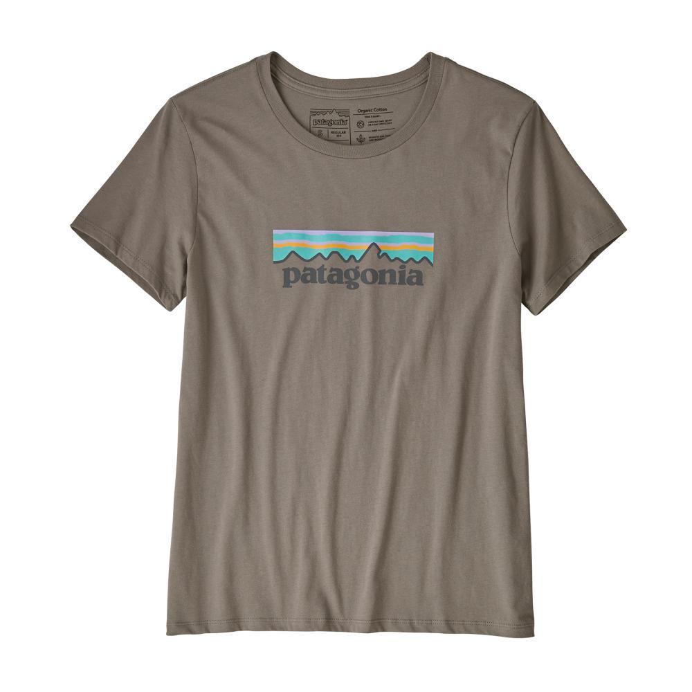 Patagonia Women's Pastel P-6 Logo Organic Crew T-Shirt FEA