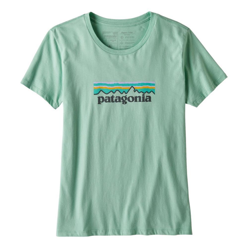 Patagonia Women's Pastel P-6 Logo Organic Crew T-Shirt GYPG