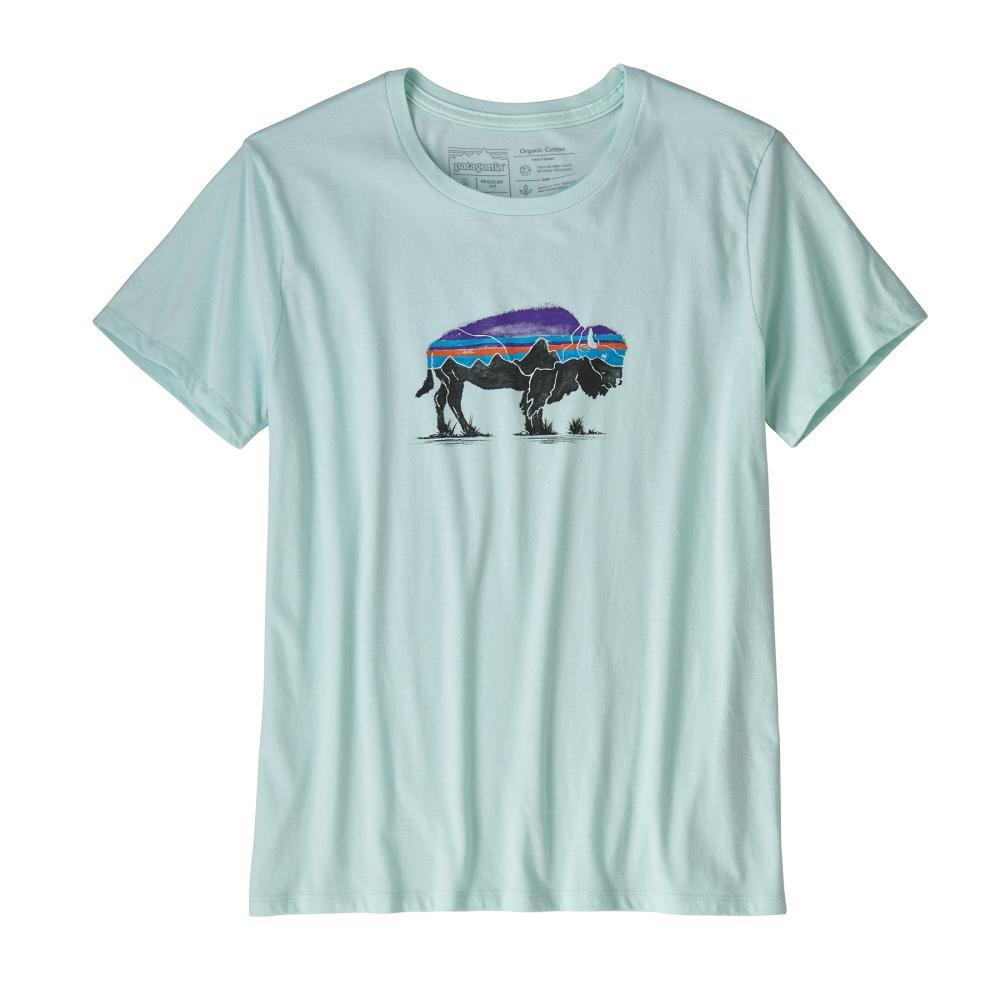 Patagonia Women's Fitz Roy Bison Organic Crew T-Shirt ATBL