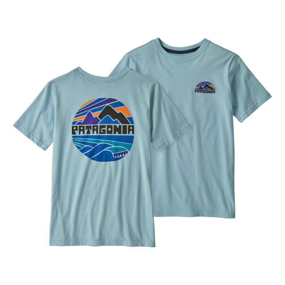 Patagonia Boys Graphic Organic T-Shirt SKBLU_FRYB