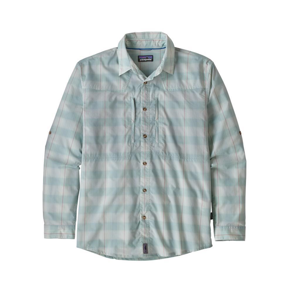 Patagonia Men's Long Sleeved Sun Stretch Shirt BLUE_HAAB
