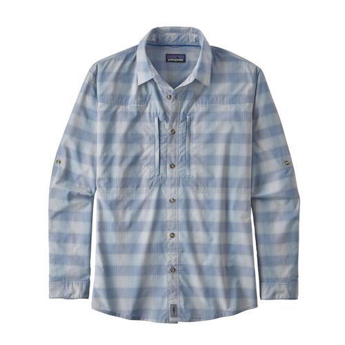 Patagonia Men's Long Sleeved Sun Stretch Shirt Hagp_purp