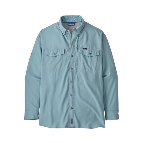 Patagonia Men's Long Sleeved Sol Patrol II Shirt Blue_bsbl