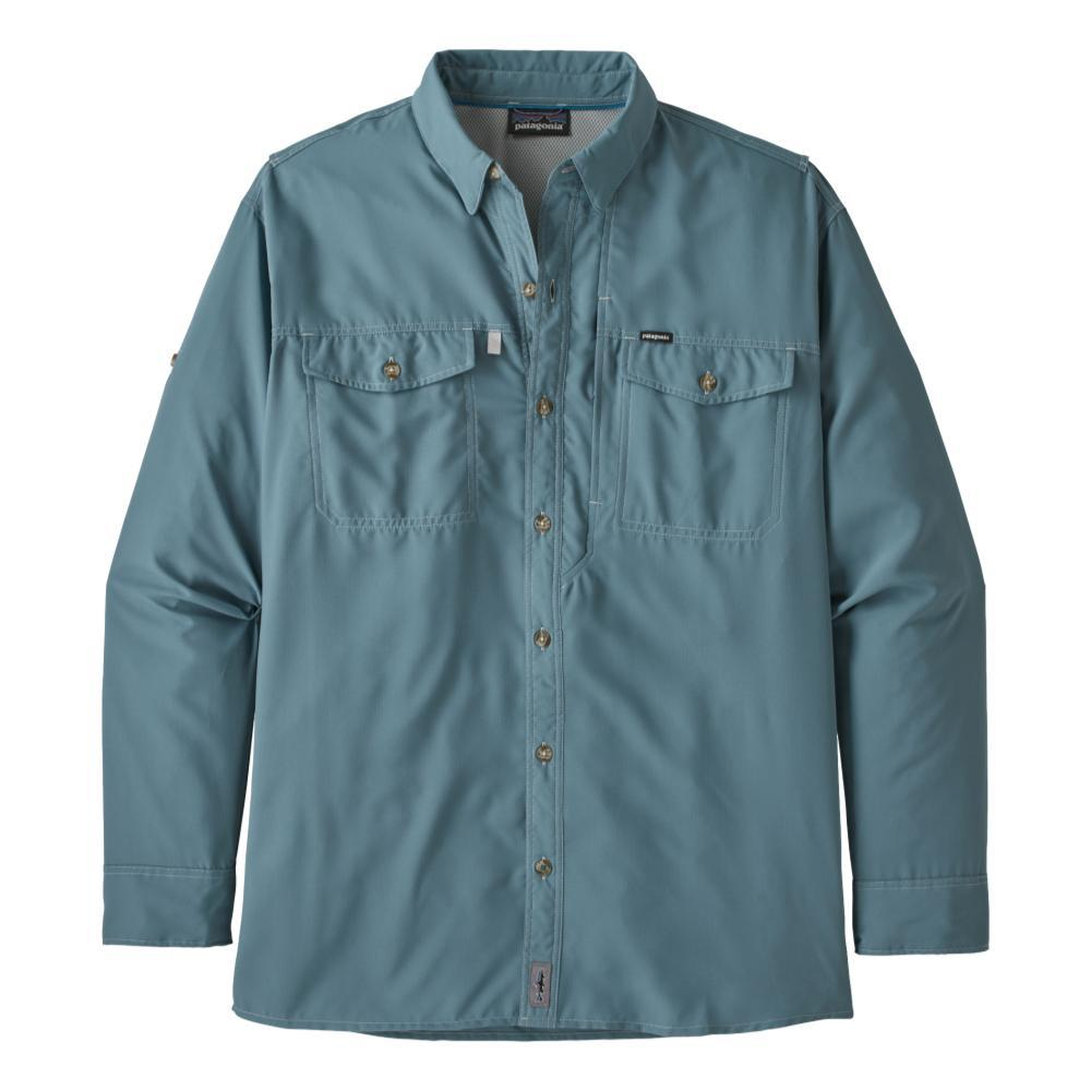Patagonia Men's Long Sleeved Sol Patrol II Shirt BLUE_PGBE