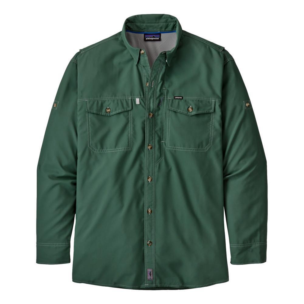 Patagonia Men's Long Sleeved Sol Patrol II Shirt GREEN_REGG