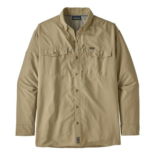 Patagonia Men's Long Sleeved Sol Patrol II Shirt Khaki_elkh