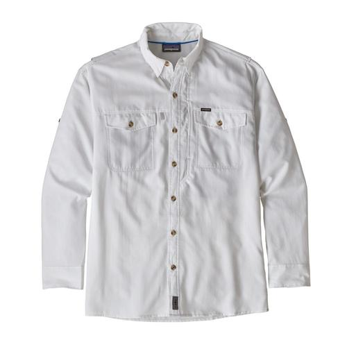 Patagonia Men's Long Sleeved Sol Patrol II Shirt Whi_white