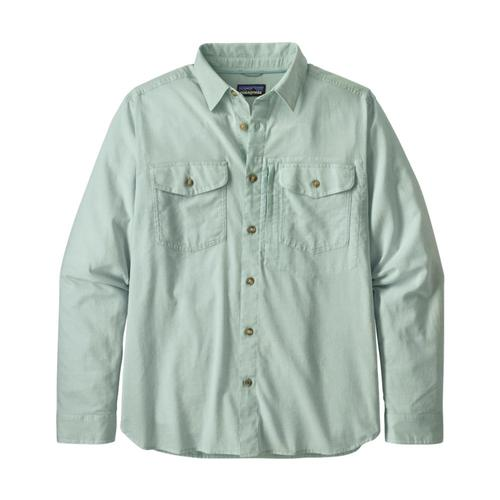 Patagonia Men's Long Sleeved Cayo Largo II Shirt Skyblue_cybl