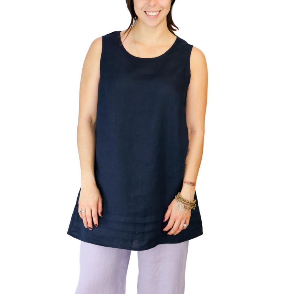 FLAX Women's Tuck Tunic MIDNIGHT