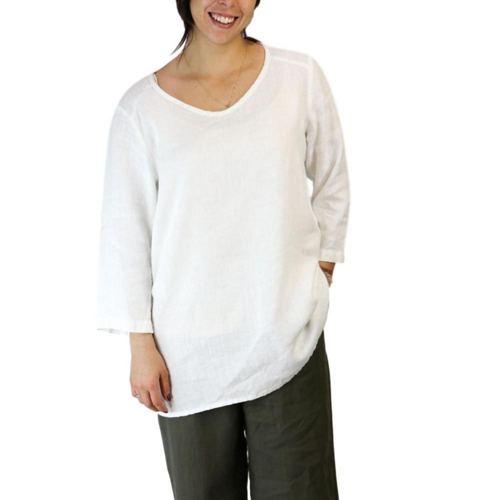 FLAX Women's Dreamy Top WHITE
