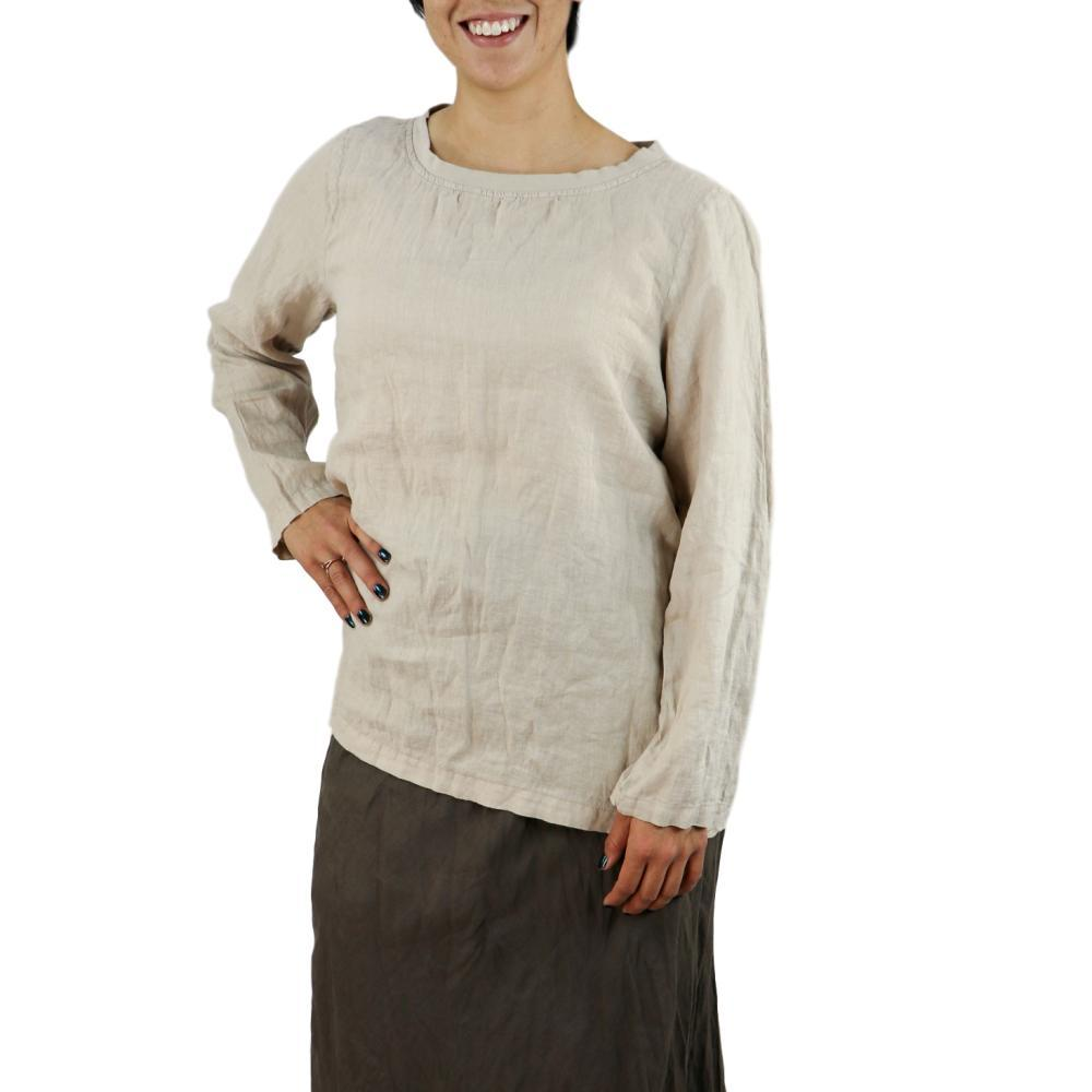 FLAX Women's Basecamp Pullover ALMOND