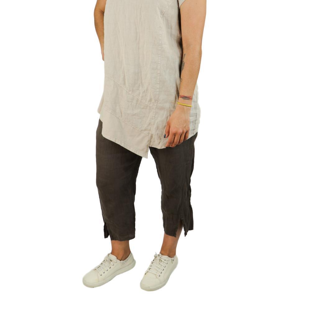 FLAX Women's Metro Crop Pants JAVA
