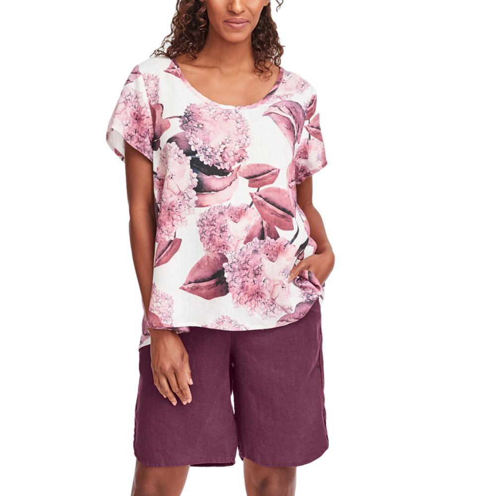 FLAX Women's Playful Top HYDRANGEA