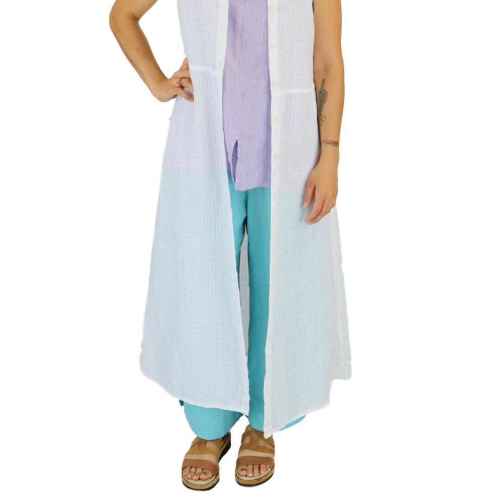 FLAX Women's Airy Flood Pants ARUBA