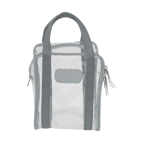 Jon Hart Design Clear Shag Bag Slate