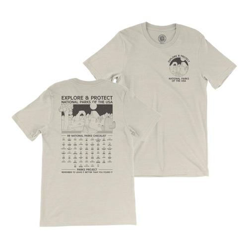 Parks Project All Parks Fill-In Your Park Unisex Tee Natural