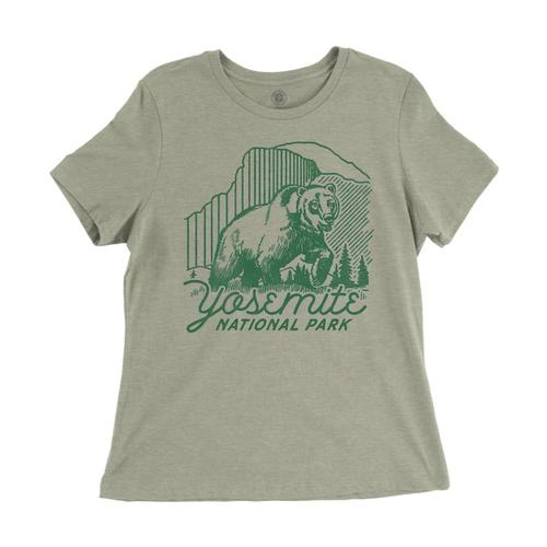 Parks Project Women's Yosemite Beardome Tee Hthstone