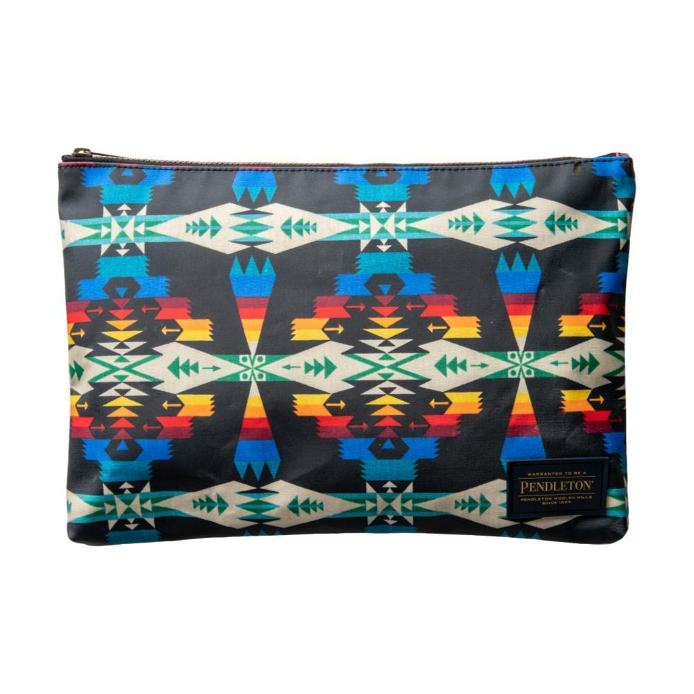 Pendleton Black Tuscon Canopy Canvas Big Zip Pouch TUSCONBLK