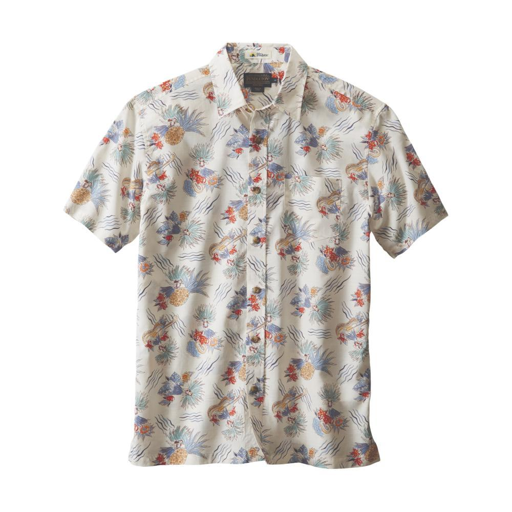 Pendleton Men's Cotton Slub Aloha Short Sleeve Shirt HULAGIRL