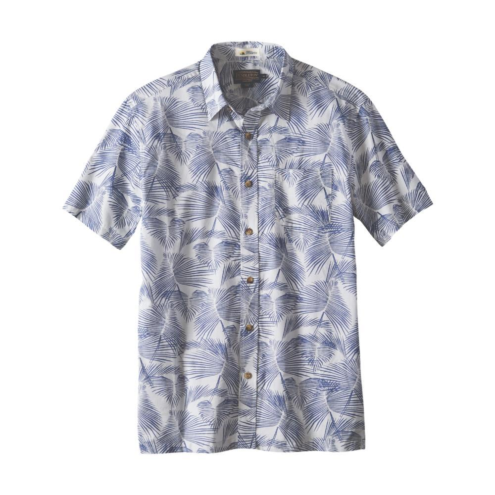 Pendleton Men's Cotton Slub Aloha Short Sleeve Shirt PALMBLUE