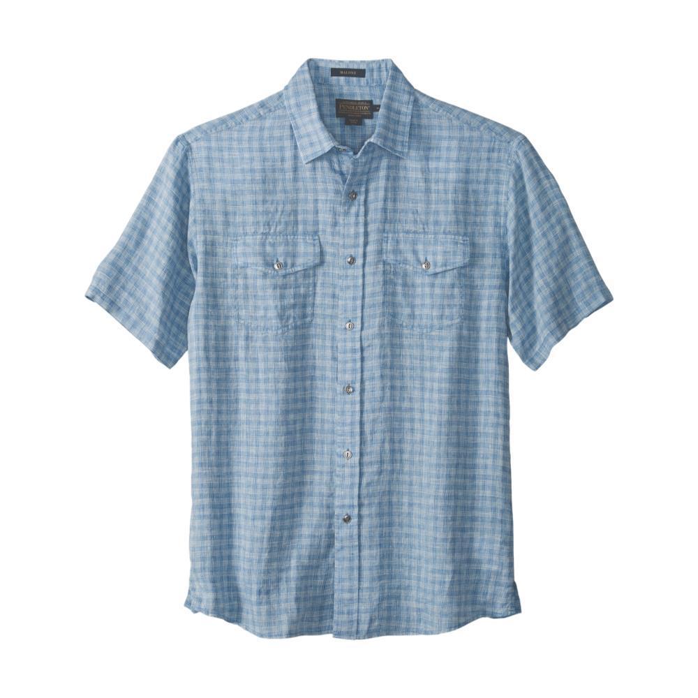 Pendleton Men's Malone Linen Short Sleeve Shirt SKY65490