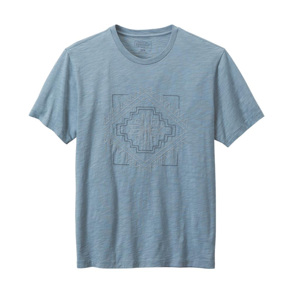Pendleton Men's Heritage Embroidered Tee BLUE61376