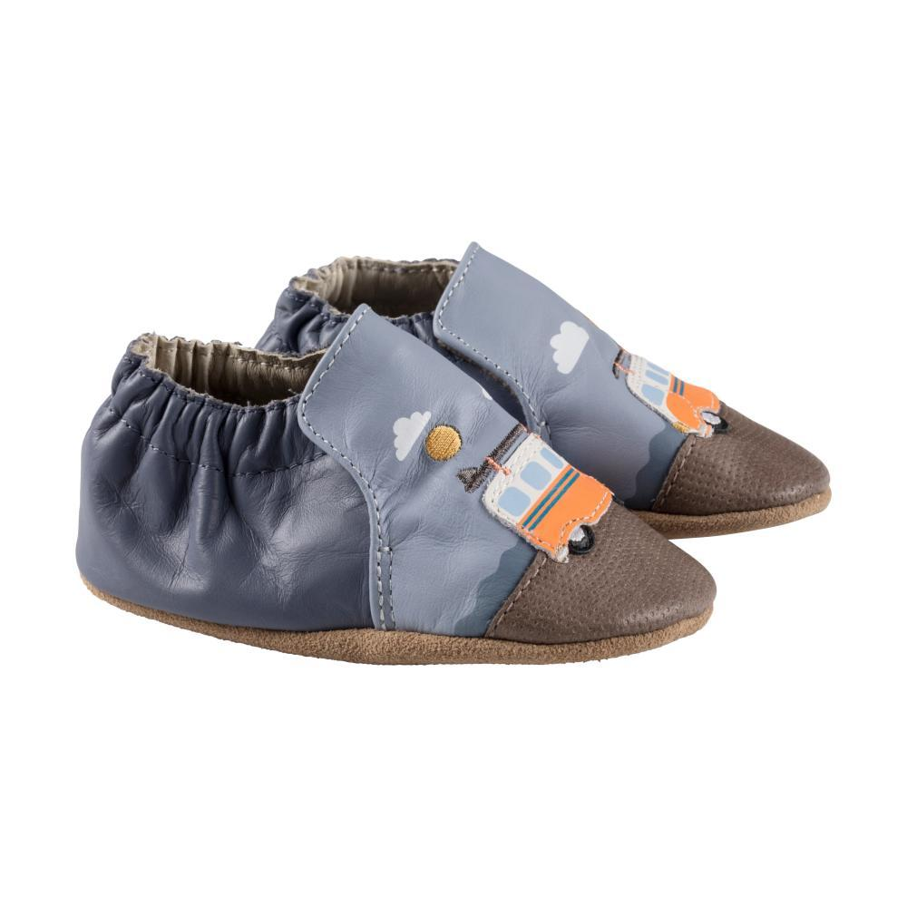 Robeez Baby Blue Surfing Summer Soft Soles Shoes BLUE