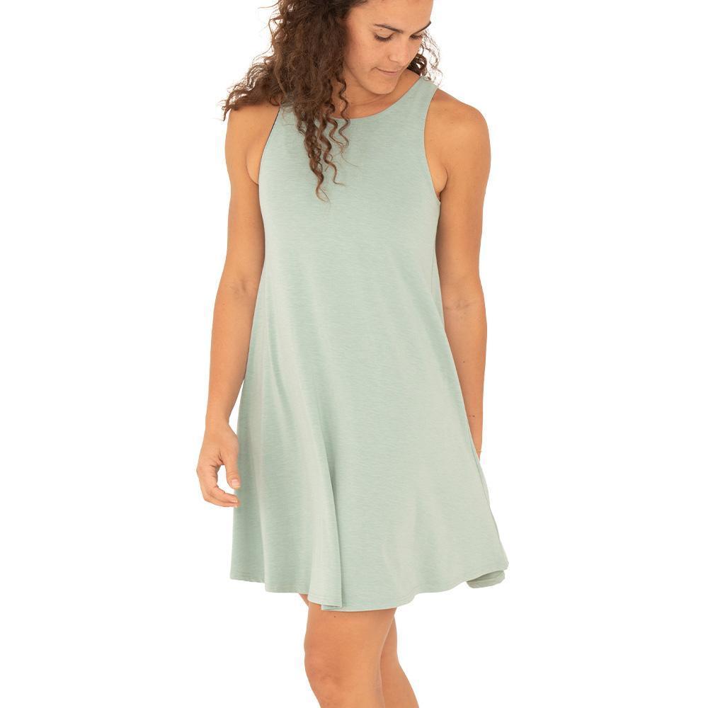 Free Fly Women's Flex Dress KEYSGREEN_109