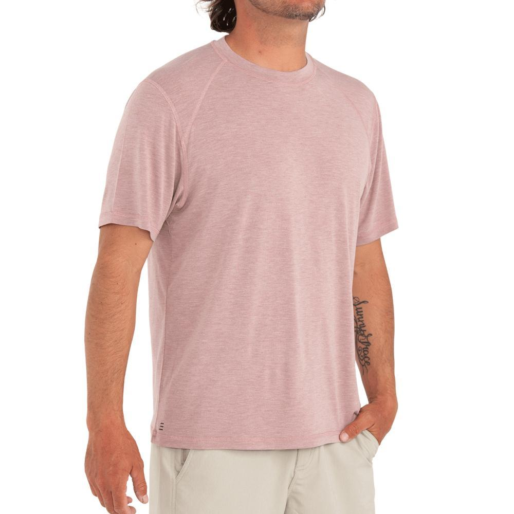 Free Fly Men's Bamboo Motion Tee HTHRRED116