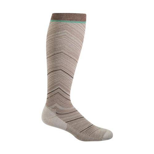 SockWell Women's Full Flattery Graduated Compression Socks Khaki_030