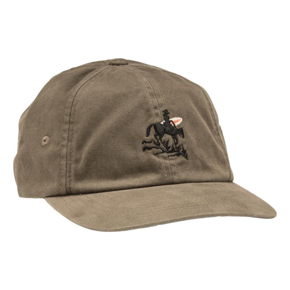 Howler Brothers Lone Rider Strapback Hat MOSS