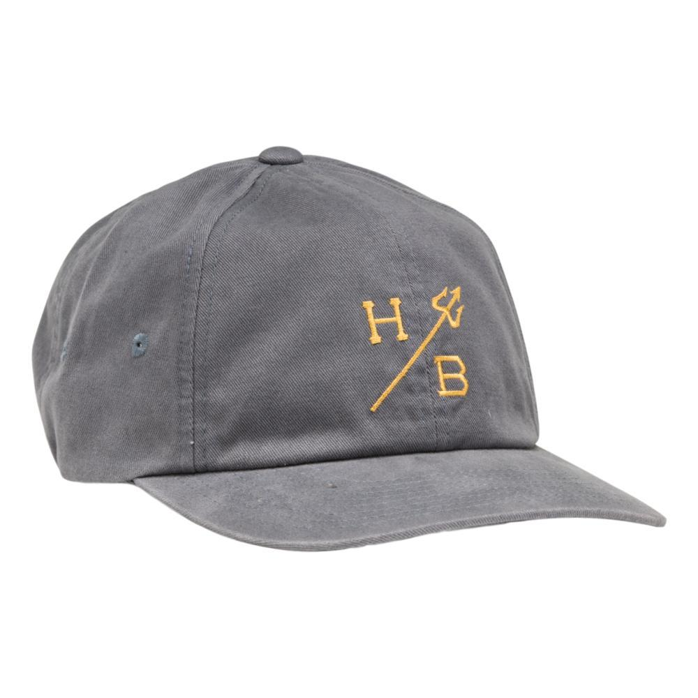 Howler Brothers Trident Strapback Hat BLUEGREY