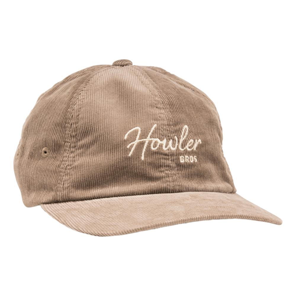 Howler Brothers Howler Script Strapback Hat GREYCORDRY