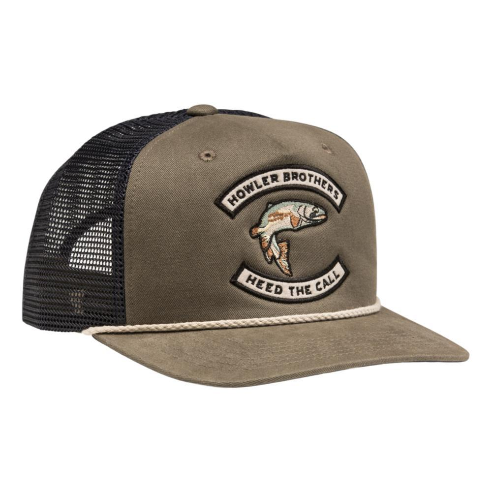 Howler Brothers HB Trout Snapback Hat FATIGUE