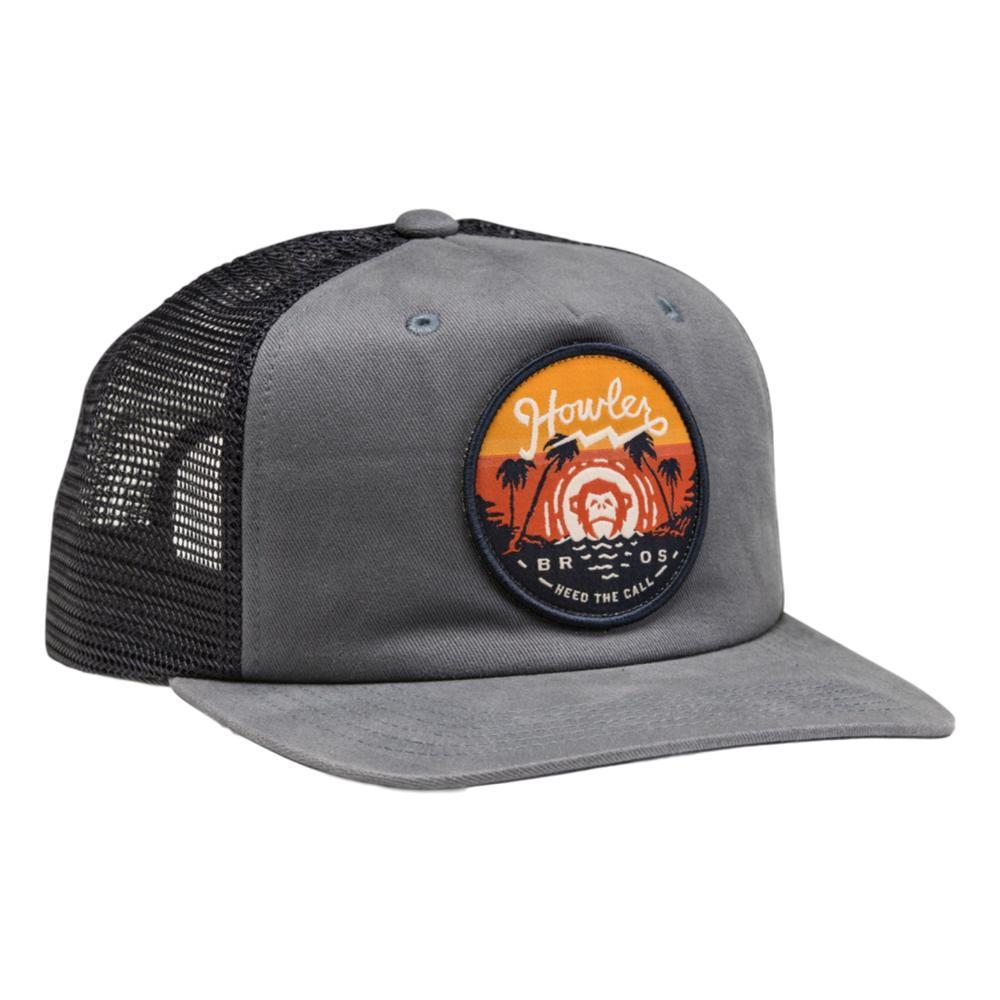 Howler Brothers Script Sunset Snapback Hat DEEPBLUE