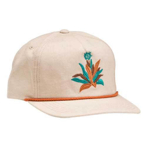 Howler Brothers Agave Unstructured Snapback Hat Stone