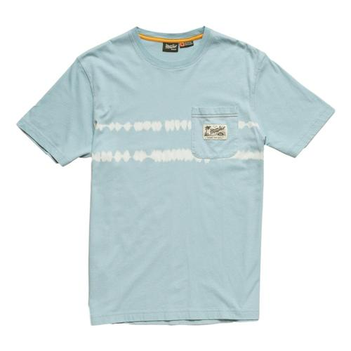 Howler Brothers Men's Dazed Horizon Classic Pocket T-Shirt Seaspray