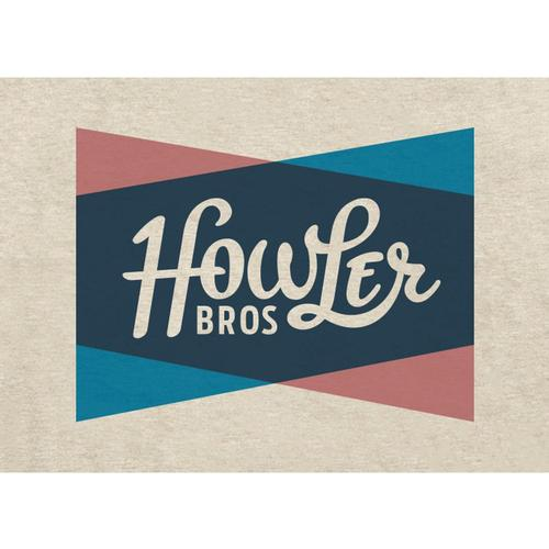 Howler Brothers Men's Classic Shapes Select Pocket T-Shirt Sand