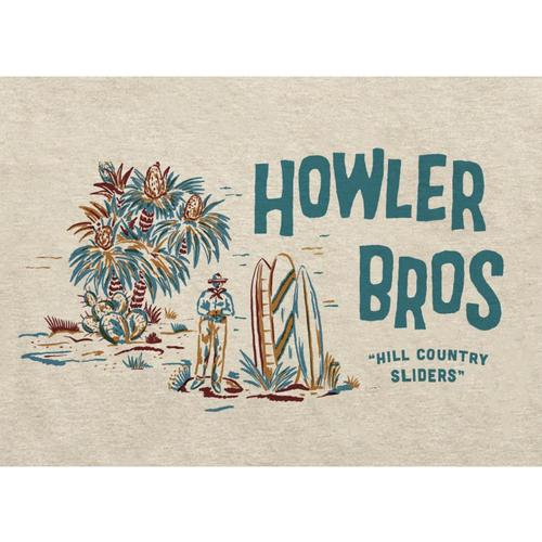 Howler Brothers Men's Hill Country Sliders Select Pocket T-Shirt Sand