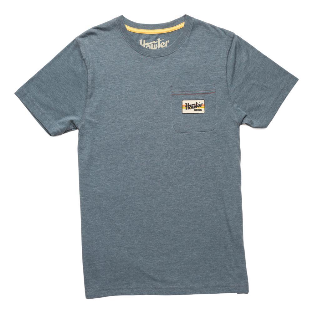 Howler Brothers Men's Howler Electric Stripe Select Pocket T-Shirt INDIGO