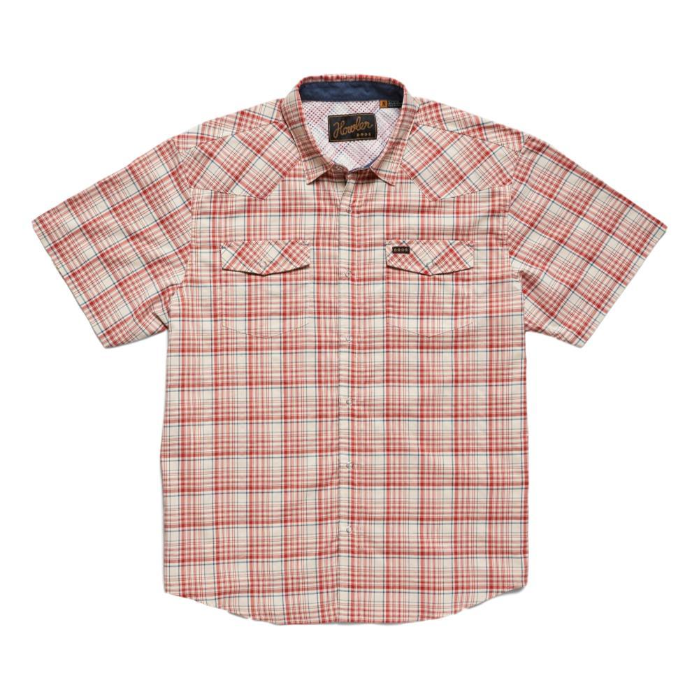 Howler Brothers H Bar B Tech Short Sleeve Shirt MARSRED