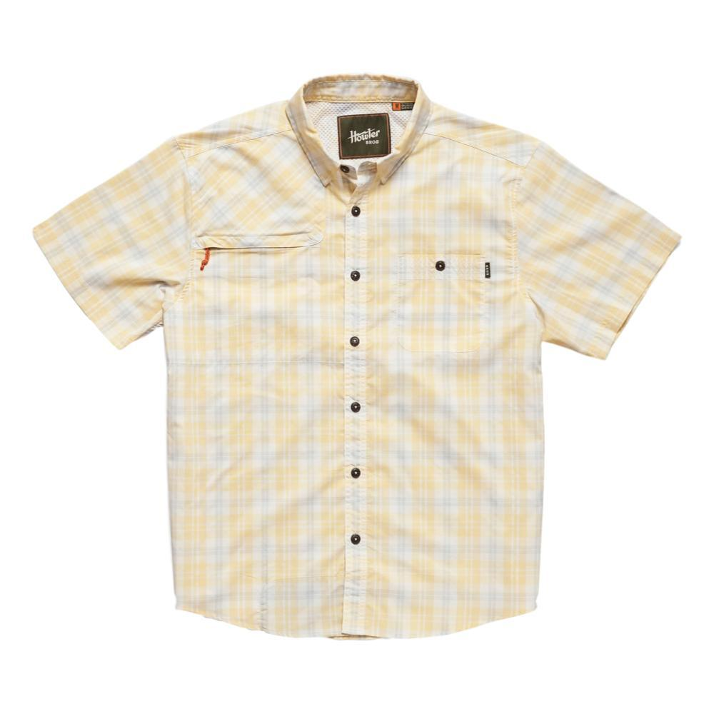 Howler Brothers Men's Matagorda Short Sleeve Shirt SUNYELLO