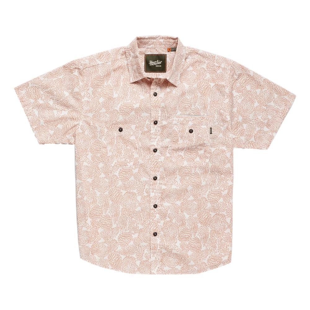 Howler Brothers Men's Aransas Prickly Pear Print Short Sleeve Shirt CLAYPOT