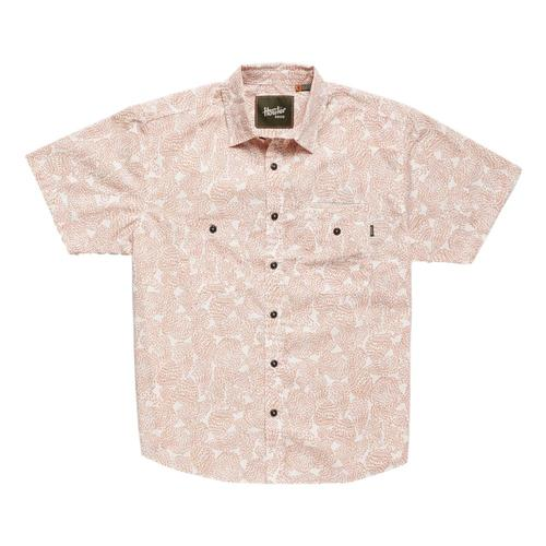 4a82283923 ... Howler Brothers Men's Aransas Prickly Pear Print Short Sleeve Shirt  Claypot