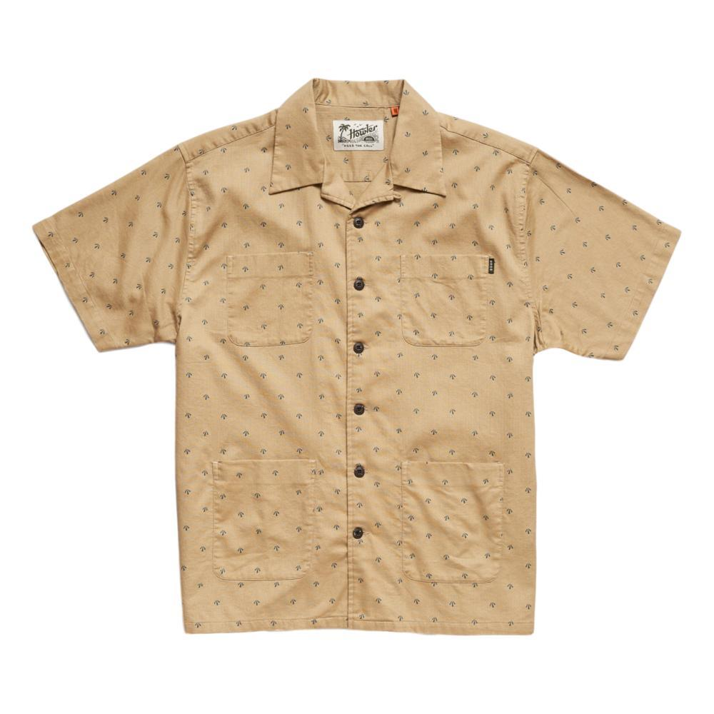Howler Brothers Men's Sunset Scout Arrowhead Print Short Sleeve Shirt KHAKI