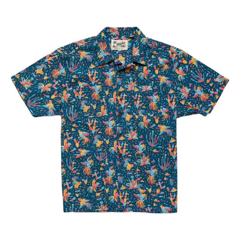 Howler Brothers Men's Sunset Scout Gallos Galore Short Sleeve Shirt FIESTA
